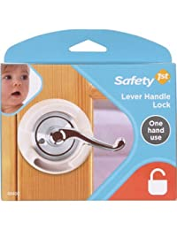 Safety 1st French Door Lever Handle Baby Proof Child Lock - One Hand Use - 72304 BOBEBE Online Baby Store From New York to Miami and Los Angeles