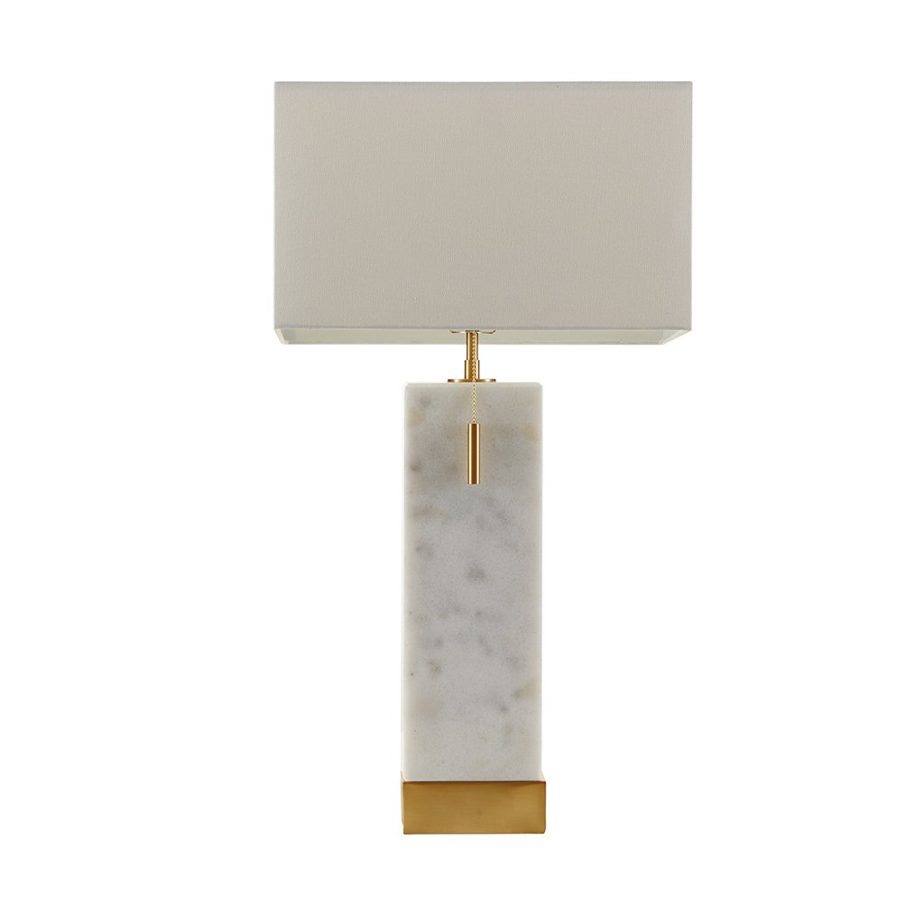 MADISON PARK SIGNATURE Bringham Large Table Lamp White See Below