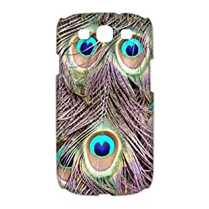Custom Peacock Hard Back Cover Case for Samsung Galaxy S3 CL1213