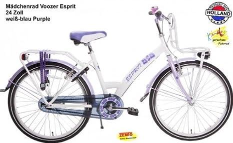 Plezier Esprit - Bicicleta para niña (24 pulgadas, 3 marchas ...