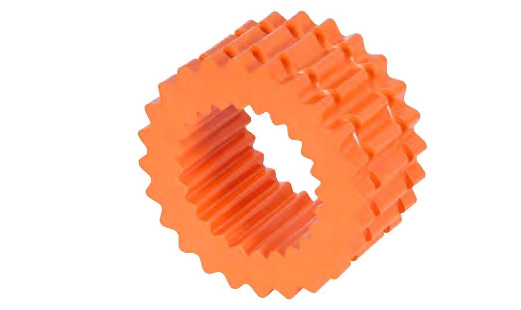 Lovejoy - 68514440744 40744 Size 9H Solid Design S-Flex Coupling Elastomer Sleeve, Hytrel, 6