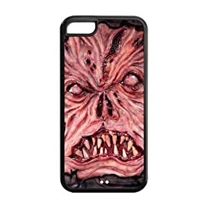5C Phone Cases, Evil Necronomicon Hard TPU Rubber Cover Case for iPhone 5C