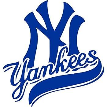 Amazon Com New York Yankees Vinyl Decal Quot Sticker Quot For Car