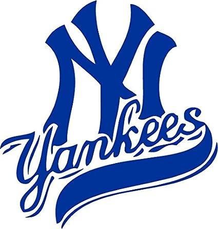 7b52c09b9 New York Yankees Vinyl Decal