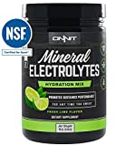Cheap Onnit Mineral Electrolytes | Low-Sugar Drink Mix for Optimal Water + Electrolyte Balance and Endurance | 60 Servings | Fresh Lime Flavor