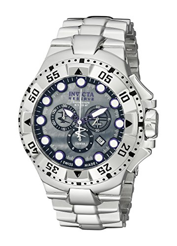 invicta-mens-13085-excursion-reserve-chronograph-grey-river-pearl-dial-stainless-steel-watch