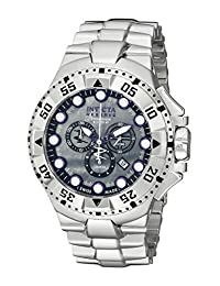 Invicta Men's 13085 Excursion Reserve Chronograph Grey River Pearl Dial Stainless Steel Watch