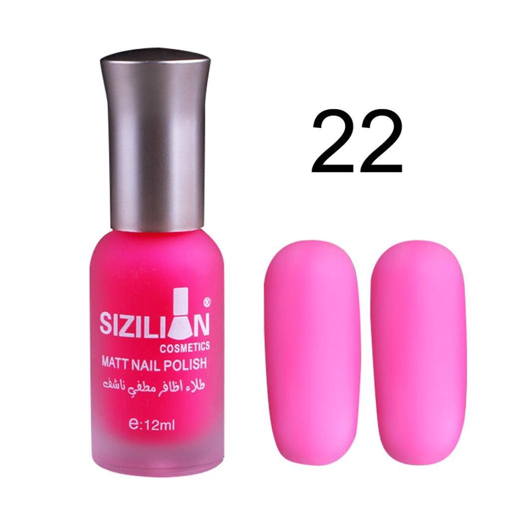 Gel de uñas BBsmile 12 ml mate mate esmalte de uñas de secado rápido de larga duración del arte del clavo mate esmalte de uñas gel (26) 9