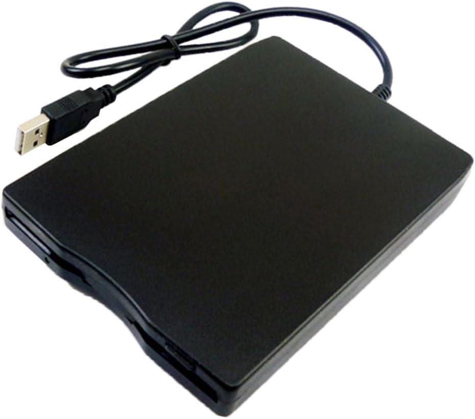 Sharplace 1,44 MB 3.5 '' Unidad de Disquete USB Externo Portátil FDD para Ordenador