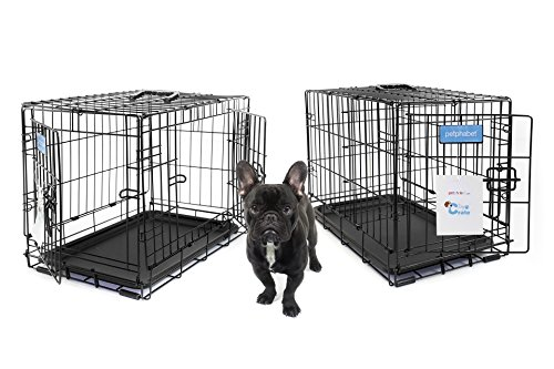 petphabet-the-best-double-door-collapsible-pet-dog-crate-with-divider-panel-and-plastic-pan-30-by-19