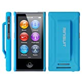 Minisuit JAZZ Slim Shell Case with Belt Clip + Screen Protector for iPod Nano 7 or 8 / 7th