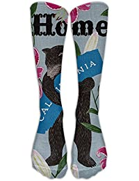 Cute I Love You California Bear Home Young Girl Cheap Compression Socks