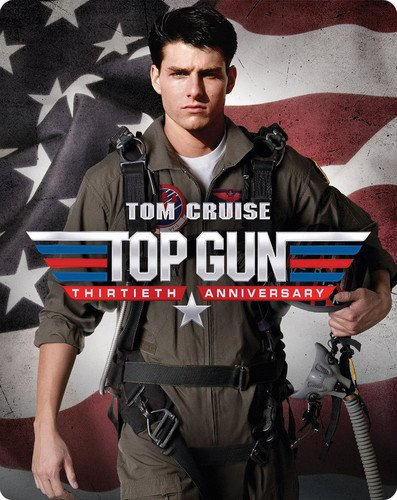 Blu-ray : Top Gun (With DVD, Anniversary Edition, Steelbook, 2 Pack, )