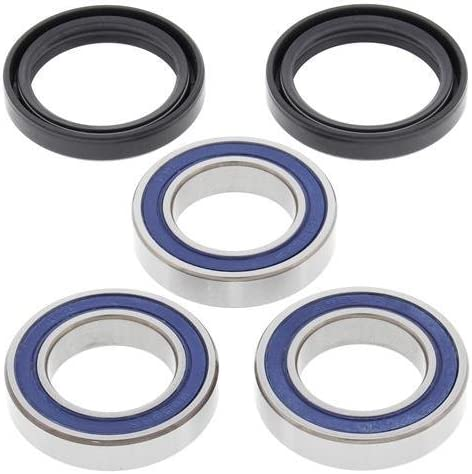 compatible withHonda TRX450R Rear Axle Wheel Bearings and Seals Kit 2004-2009