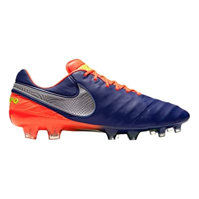 best service 08c67 430e1 Nike Men's Tiempo Legend VI FG - (DEEP Royal Blue/Chrome)