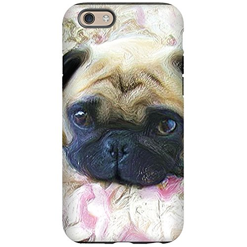 (CafePress - Pug iPhone 6 Tough Case - iPhone 6/6s Phone Case, Tough Phone Shell)