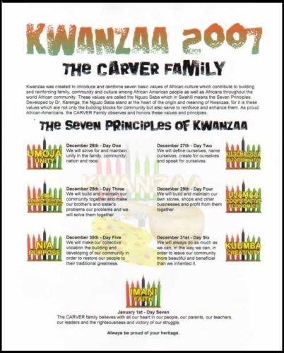 Personalized Kwanzaa PDF Digital Download ...