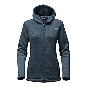 The North Face Women's Crescent Full Zip Hoodie - Ink Blue Heather - XL (Past Season)