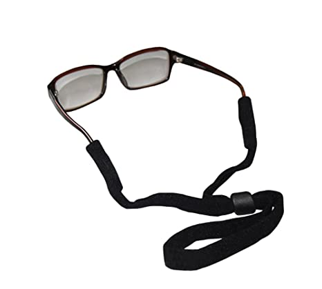 ab6e6f1463 Buy Sports Safety Glasses Sunglasses Holder Eyeglasses Neck Cord Retainer  Strap for Men and Women Black Online at Low Prices in India - Amazon.in