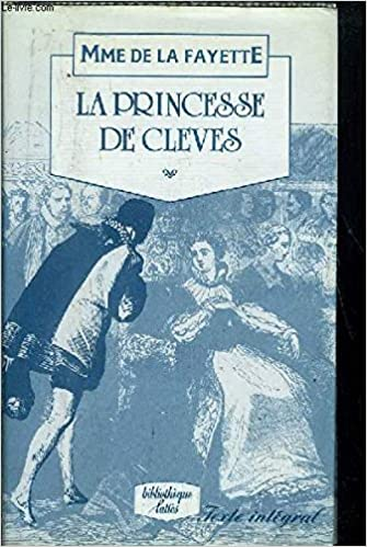La princesa de Cleves: Madame de Lafayette: 9788475618975: Amazon.com: Books