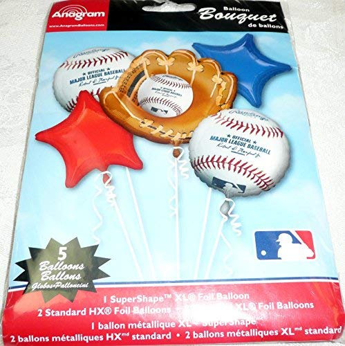 Major League Baseball Balloon Bouquet