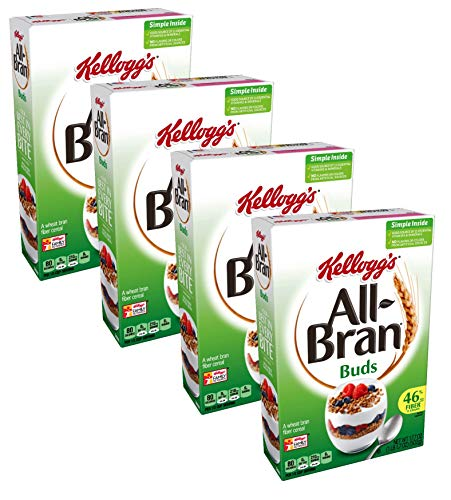 (Kellogg's All-Bran Buds Cereal - 17.7 oz - 4 Pack)