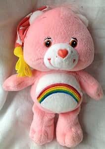 "7.5"" Plush Bedtime Cheer Bear in Night Cap Doll Toy"