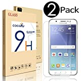 Samsung Galaxy J7 Screen Protector, COCOFU Full Coverage Screen Protector(2016)--[HD Clear] [Free Bubble-Easy Installation] [3D Touch] [Scratch Resist]with Lifetime Replacement Warranty(2-Pack)