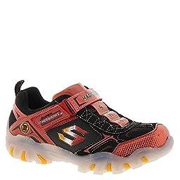 Skechers Street Lightz Shiftz Boys Light Up Shoes Red/Black 13 Little Kid