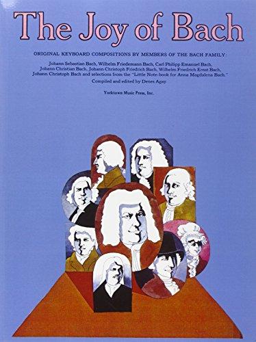 The Joy of Bach: Piano Solo (Joy Of...Series)