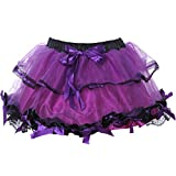 Search : Aiuem Mini Short Sweet Sexy Club Skirts Womens Multilayer Ball Gown Gothic Lolita Skirt Tulle Petticoat