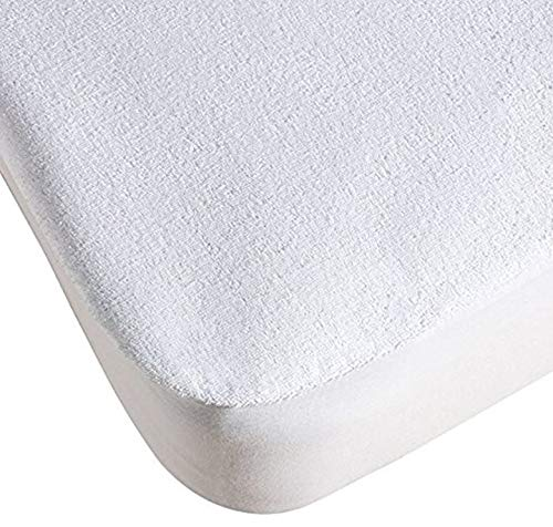 Royal Europe Textile - Protectores DE COLCHÓN Rizo, Base PVC, Impermeable, Blanco, Pack 5 ud, Cama 180cm: Amazon.es: Hogar