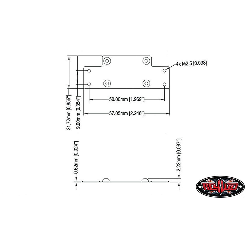 591 RC4WD 1/10 Mini Warn 9.5cti Winch Z-S1571 | Wiring LibraryWiring Library