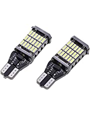 Starnearby 2 piezas Canbus W16W LED CANBUS T15 45LED 4014smd chip LED luz de alta potencia