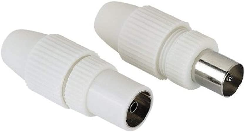 Hama - Antenna macho Plug/macho Jack, Coaxial, Clamp Type