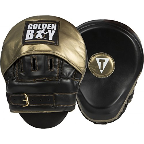 Title Boxing Golden Boy Focus Mitts by Title Boxing