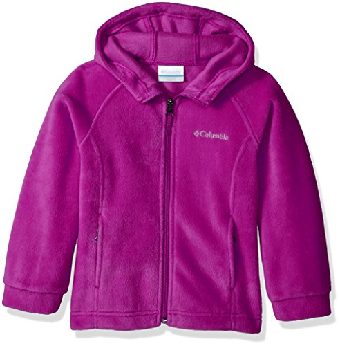 Columbia Girls' Big Benton II Hoodie, Deep Blush, Medium