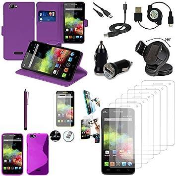 Wiko: Rainbow-Funda para accesorios de silicona de Gel de ...