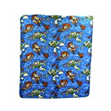 Toy Story Woody & Buzz Repeater Fleece Character Blanket 50 x 60-inches
