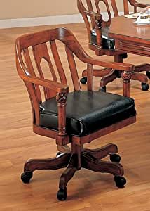 strong dining room chairs | Amazon.com: Grand Style Solid Wood Swivel Game/Dining ...