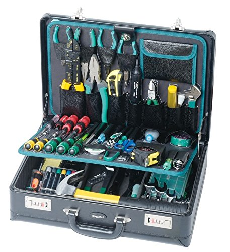 - Eclipse Tools 1PK-1700NA Pro's Kit Electronics Master Kit, Brief Case Style