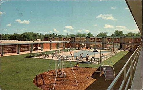 (Holiday inn of Ann Arbor Ann Arbor, Michigan Original Vintage Postcard )