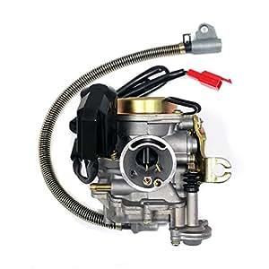Performance Adjustable CARBURETOR for 50cc/80cc GY6 Engines 20mm