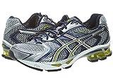 ASICS Men's GEL-Kinetic 3 Running Shoe,Navy/Lightning/Lime,8 M US For Sale