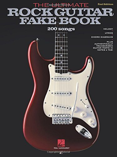Amazon The Ultimate Rock Guitar Fake Book Over 200 Rock Hits