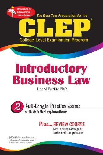 CLEP Introductory Business Law (CLEP Test Preparation)