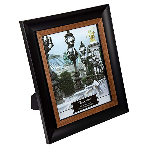 CTG, 8 x 10 inches, Picture Frame, Black, Beige ()