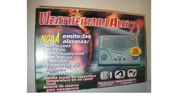 Amazon.com: NOAA Weatherman Alert: Electronics