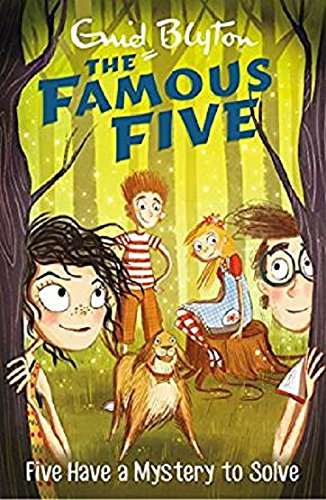Five Have a Mystery to Solve: 20 (The Famous Five Series)