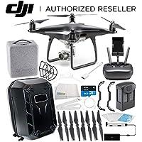 DJI Phantom 4 PRO Obsidian Edition Drone Quadcopter (Black) Starters Hardshell Backpack Bundle